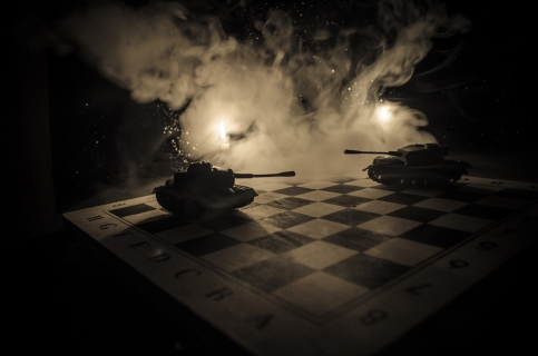 War on a chessboard - Dreamstime_91024998