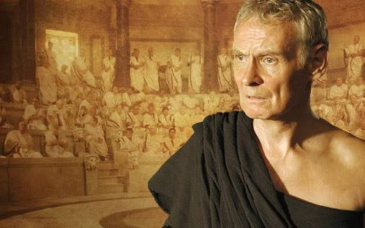 "Cato the Younger - played by Karl Johnson in HBO's ""Rome"""