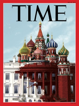 Cover of Time magazine, 18 May 2017