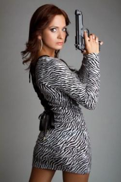 Woman-with-gun-Dreamstime-14755035