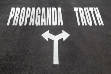 Propaganda vs truth choice - choice of paths