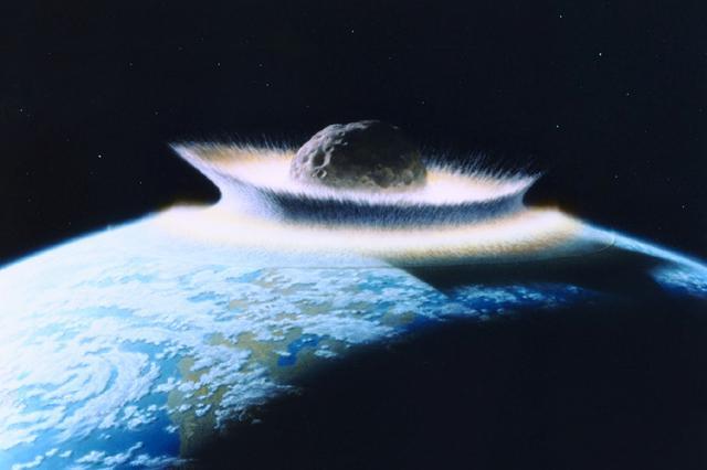 NASA-asteroid-impact - D. Davis-NASA