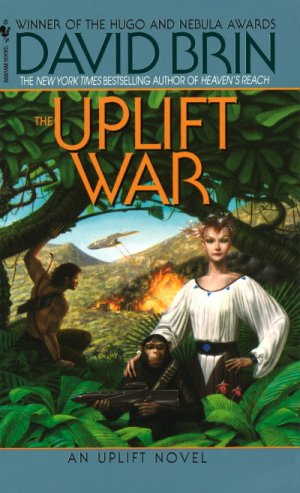"""The Uplift War"" by David Brin"