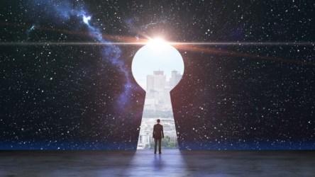 Door to the Future - Dreamstime-159868760
