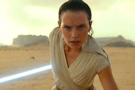 "Rey in ""Rise of Skywalker"""