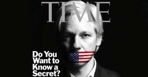 Julian Assange on TIME cover - 13 Dec 2010