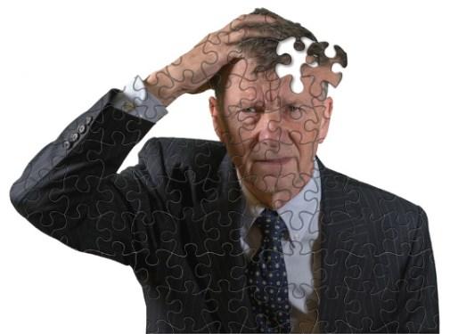 Elderly Man Dementia - Dreamstime-153064107