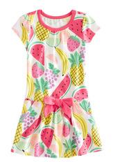 Drop Waist Fruit Dress