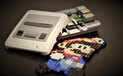 Mini console de jeux avec un Raspberry Pi