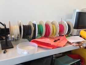 Flexible wires used for soldering