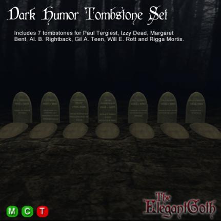Dark-Humor-Tombstone-Set