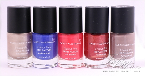 Face of Australia Colour Pro Nail Enamel