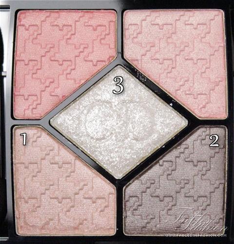 Dior Cherie Bow 5 Couleurs Eyeshadow - Ballerine 724
