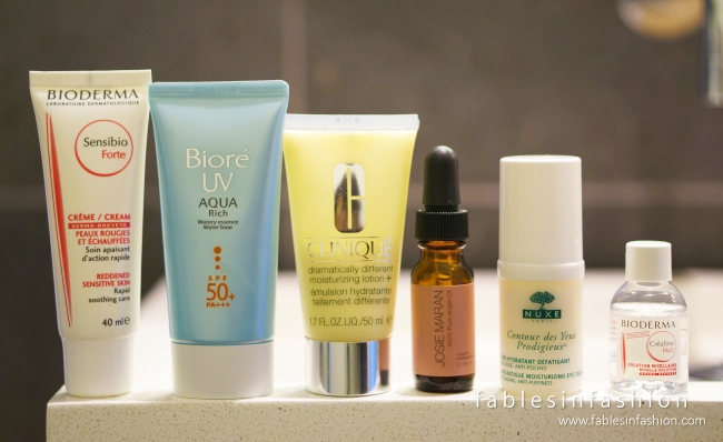 My Travel Skincare Routine