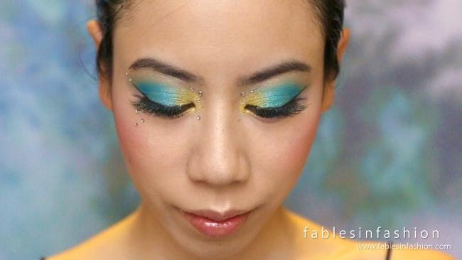 Mermaid Eyes Makeup Tutorial