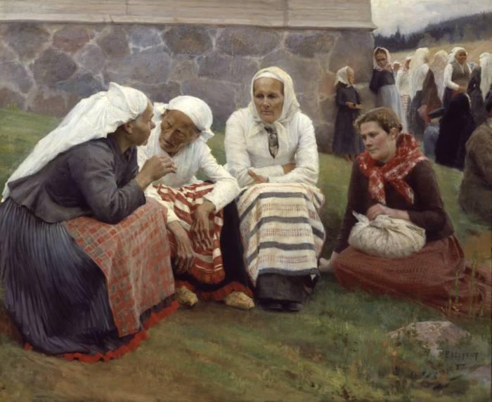 Women of Ruokolahti on the Church Hill