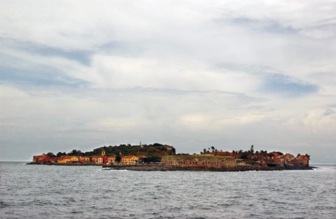 Goree Island, Senegal, located off the Western African coast, was where slaves were taken after being captured to be put on ships bound for Cuba, Brazil, and the United States. Photograph taken during Joint Task Force Liberia.