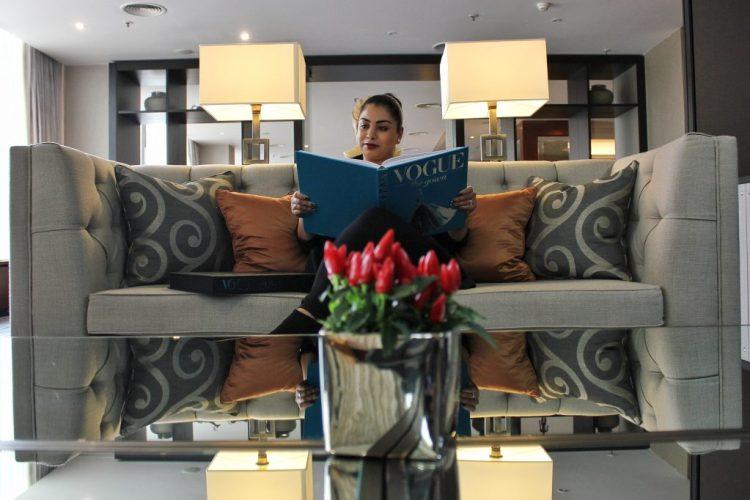 Corinthia Hotel Prague: Lounge area