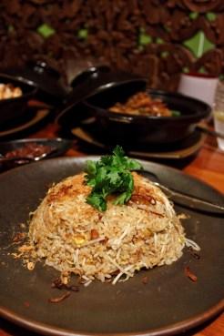 Singapore fried rice to accompany my curry