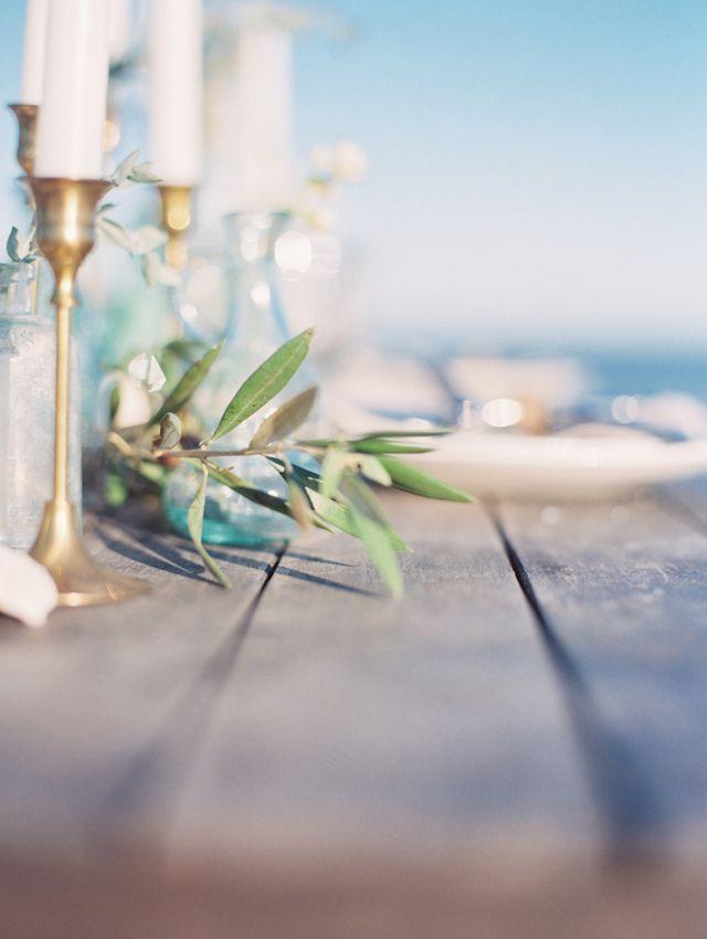 Beach Wedding Name Place Cards