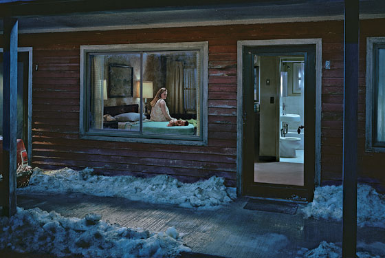 Untitled 'beneath the roses' Gregory Crewdson