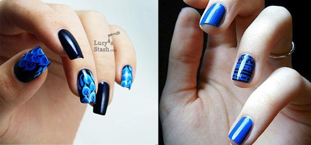 Amazing Blue Nail Art Designs Ideas 2017 Fabulous
