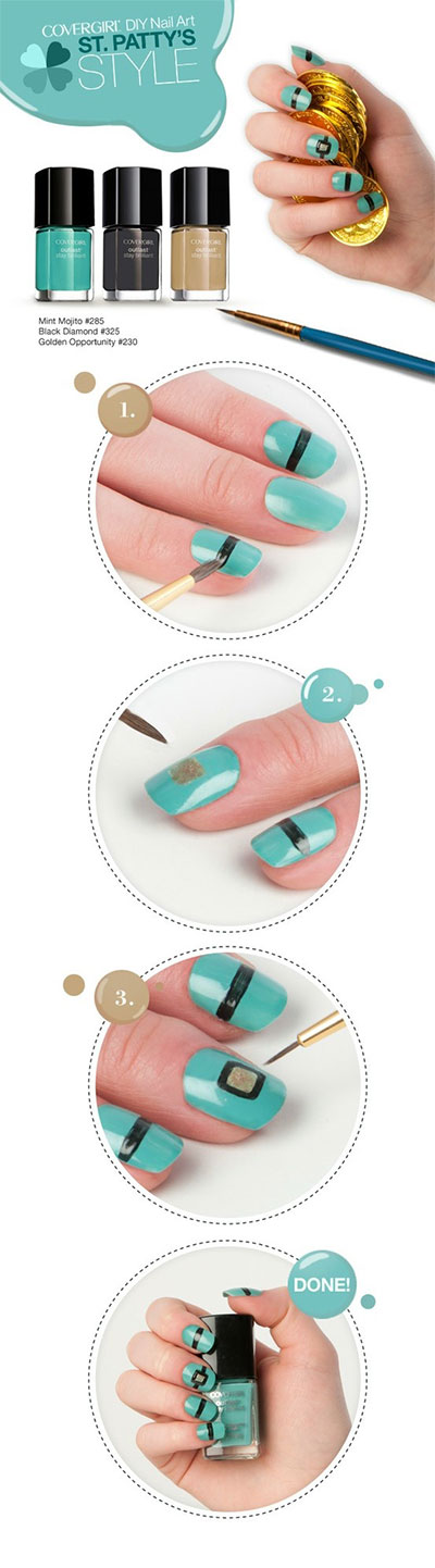 15 Simple Step By Nail Art