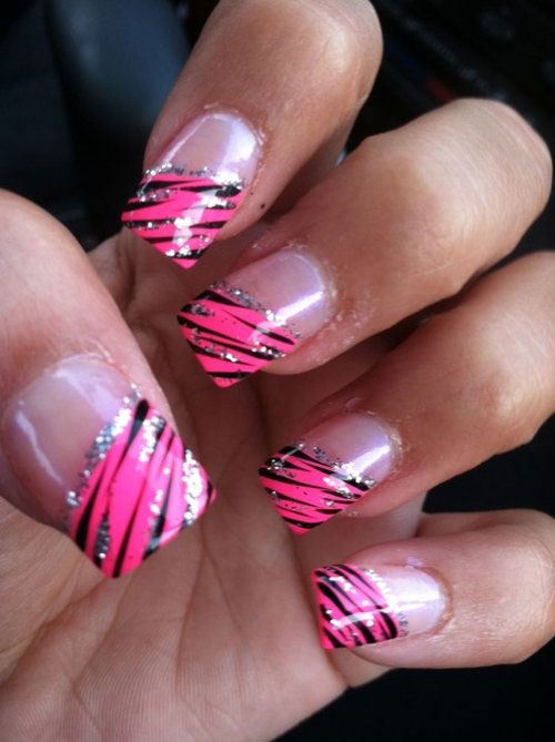 Tip Elegant Acrylic Nail Designs Picture Simple