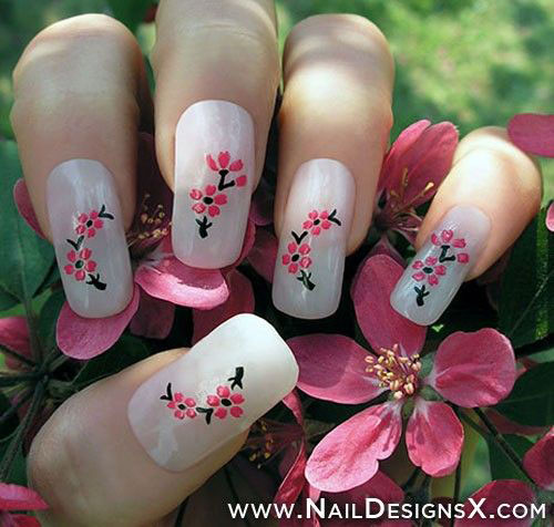 Simple Nail Art Designs Step