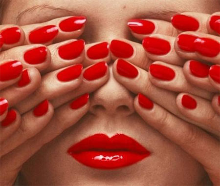 Amazing Red Nail Art Designs Ideas For S