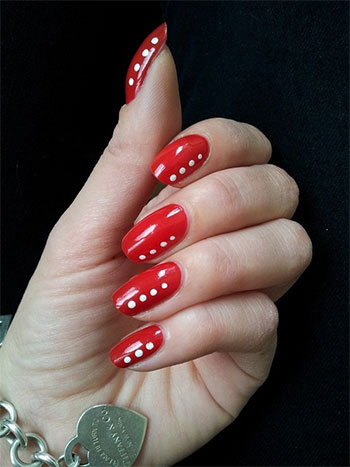 Awesome Red Nail Art Designs