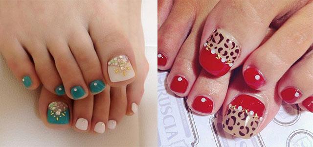 Easy Cute Toe Nail Art Designs Ideas 2017 For Beginners Fabulous