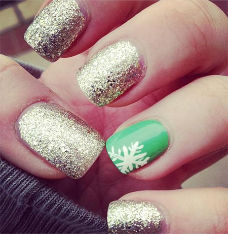 Easy Simple Winter Nail Art 2016 For Beginners Learners