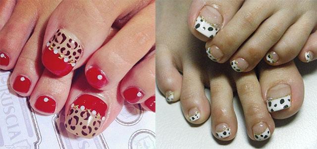Easy Zoo & Farm Animal Toe Nail Art Designs & Ideas 2014