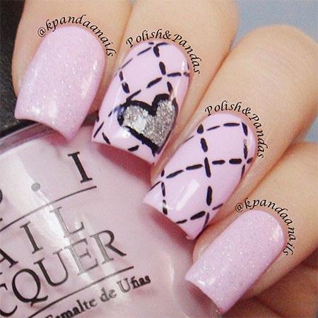 Valentine S Day Nail Art 10 50 Ideas