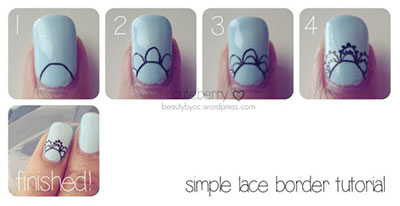 Easy Bridal Wedding Nail Art Tutorials For S