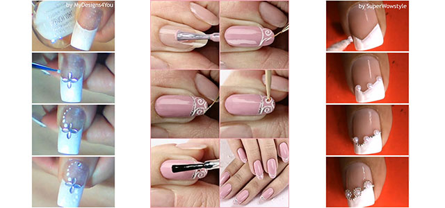 Easy Simple Step By Gel Nail Art Tutorials For Beginners Learners 2017 Fabulous Designs
