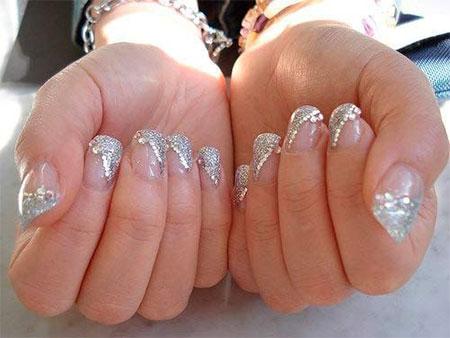 Inspiring Wedding Nail Art Designs Ideas 2017 12