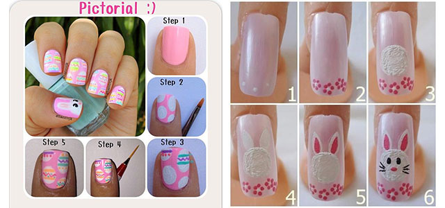Elegant Easter Nail Art Tutorials For Beginners Learners