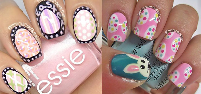 Simple Easter Egg Nail Art Designs Ideas For Beginners 2017 Fabulous