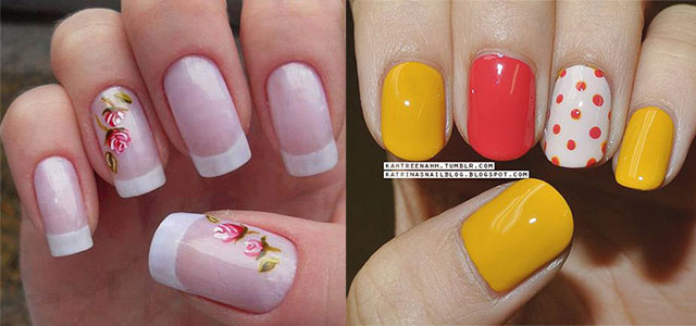 Simple Spring Nail Art Designs Ideas Trends 2017