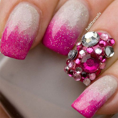 20 Best Valentines Day Acrylic Nail Art Designs