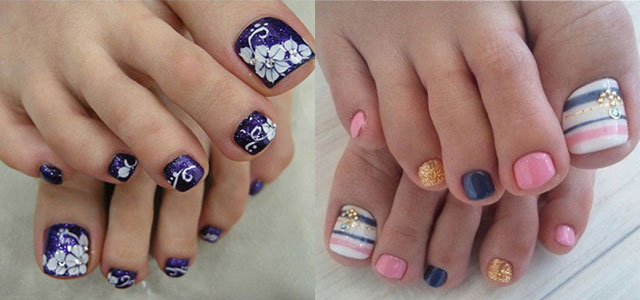 12 Summer Themed Toe Nail Art Designs Ideas Trends Stickers 2017 Fabulous