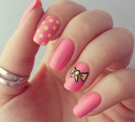 15 Cute Pink Summer Nail Art Designs Ideas Trends Stickers