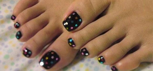 Simple Summer Inspired Toe Nail Art Designs Ideas