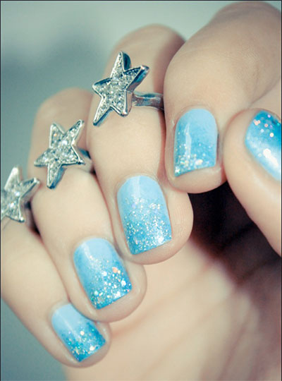 15 Disney Frozen Elsa Nail Art Designs Ideas