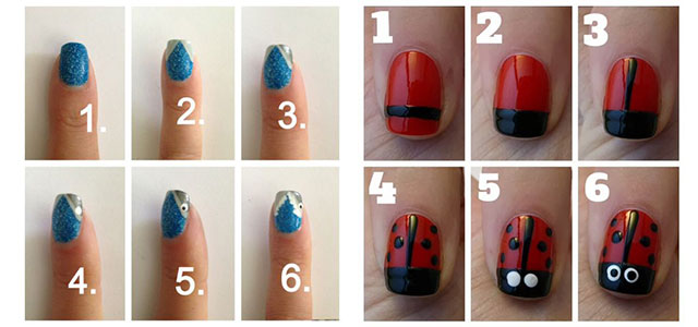Easy Simple Spring Nail Art Tutorials 2016 For