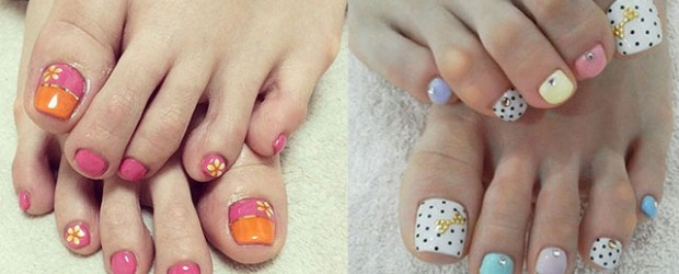 20 Easy Simple Toe Nail Art Designs Ideas Trends 2017 For Beginners Learners