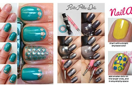 How To Polka Dot Nails 4k Pictures 4k Pictures Full Hq Wallpaper