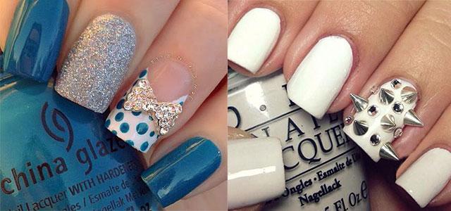 12 Simple 3d Nail Art Designs Ideas Trends Stickers Nails Fabulous